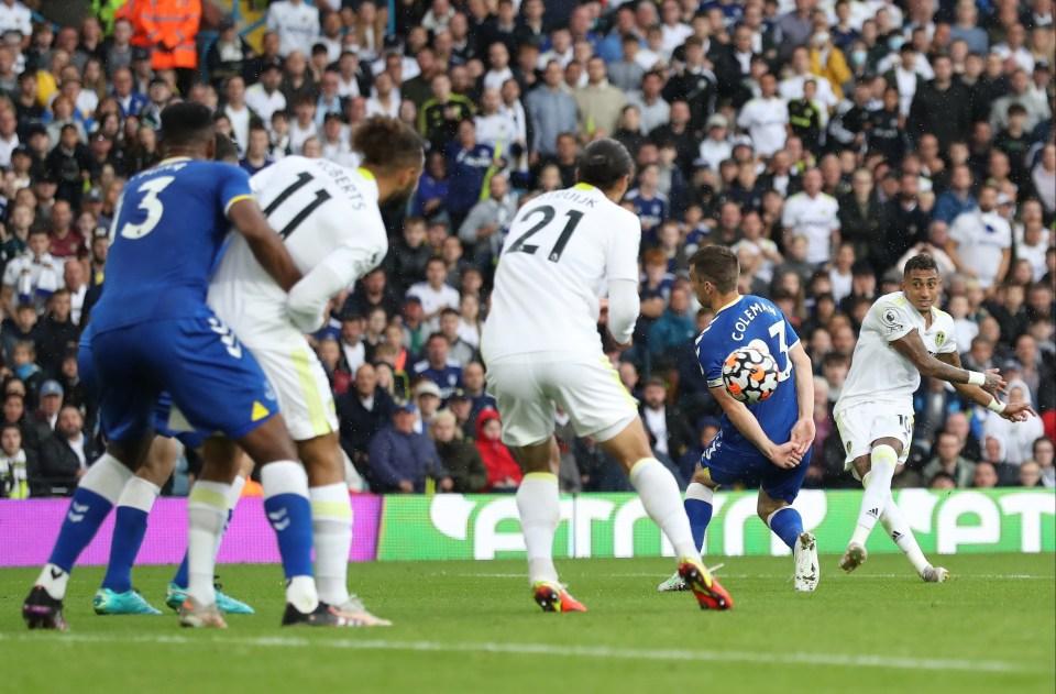 Everton drew 2-2 with Leeds over the weekend