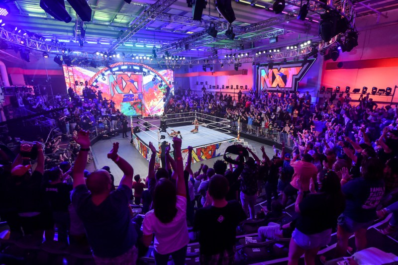 WWE's new look setting for NXT
