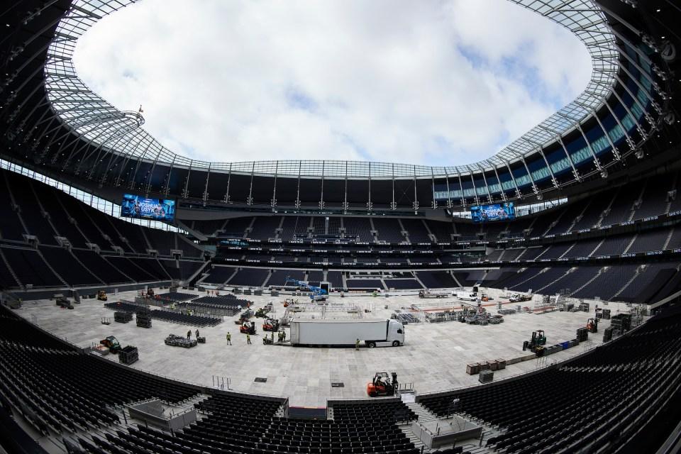 Tottenham Hotspur stadium almost ready to go