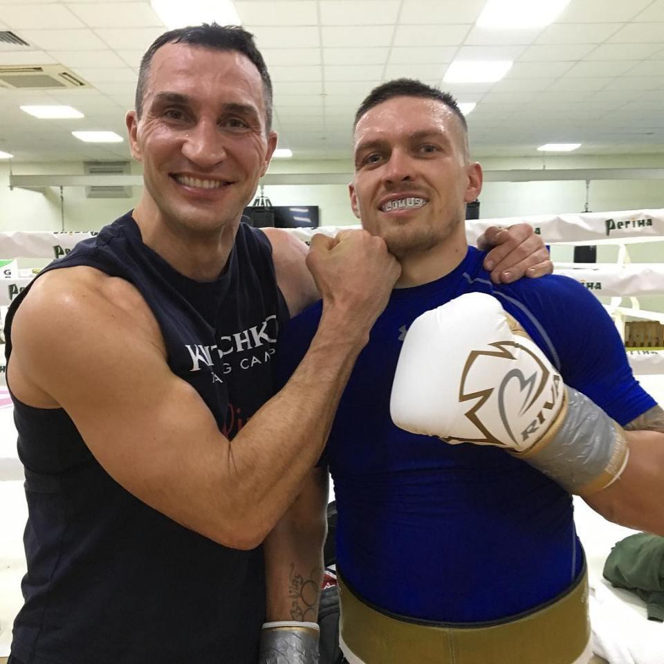 Klitschko and Usyk are friends