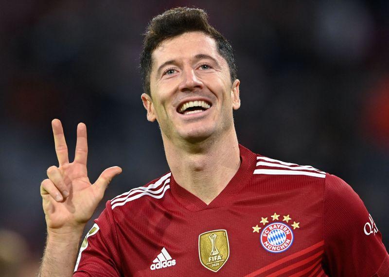 Lewandowski just lives to score goals
