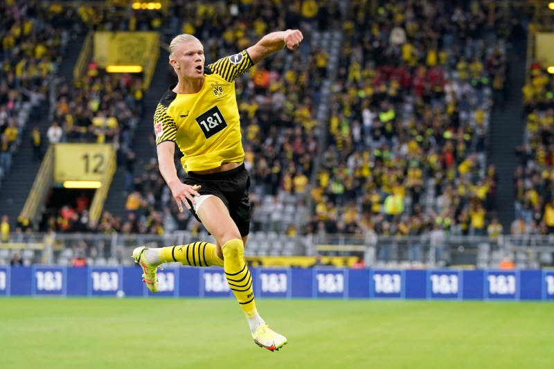 Haaland is a goal machine with 68 goals in 67 appearances for Borussia Dortmund