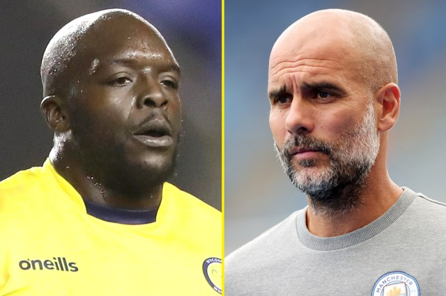 'I'll introduce myself to Pep Guardiola', says Adebayo Akinfenwa, who jokes Wycombe boss Gareth Ainsworth is a better manager than Man City boss and Liverpool's Jurgen Klopp