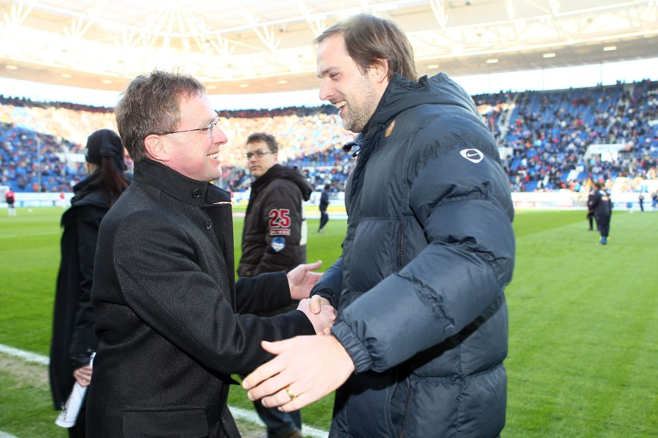 Rangnick was approached by Chelsea before his former protege Tuchel took charge