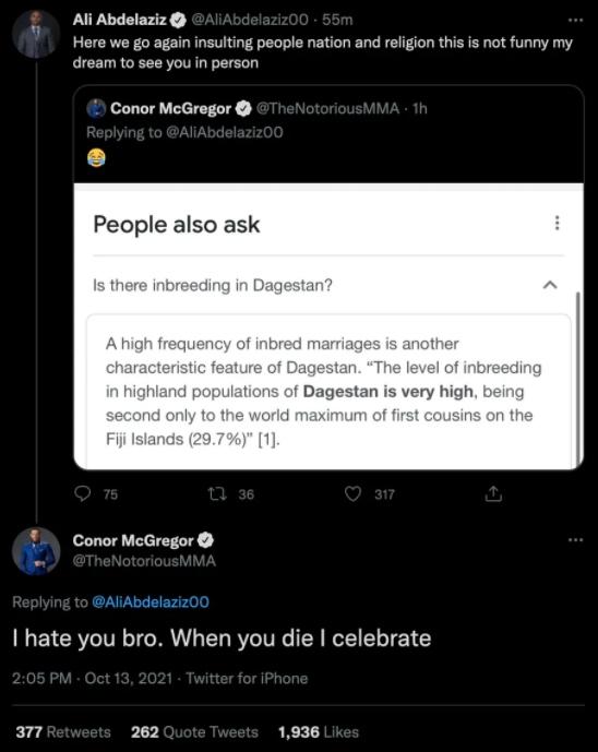 McGregor said he