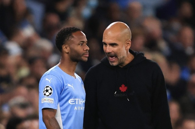 Pep Guardiola admits he 'can't assure' Raheem Sterling more game time with Man City ace considering exit as Ferran Torres is ruled out for three months