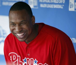 Delmon Young has plenty of reasons to smile.