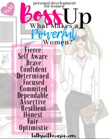 What makes a powerful woman