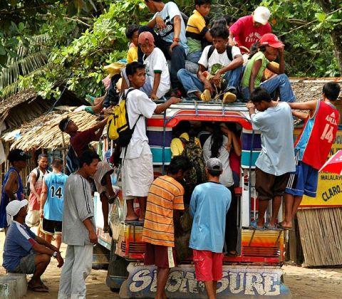 tagalog verbs like a jeepney