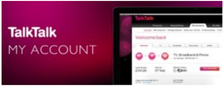 Talktalk Sign in to my account