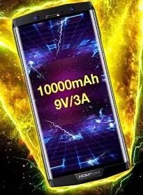 homtom ht70 specifications 10000 mAh Battery