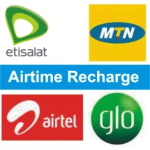 Load Recharge Cards on MTN, GLO, Airtel and 9Mobile
