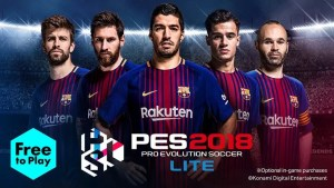 Download Pro Evolution Soccer 2018