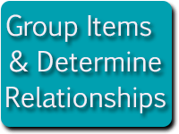 flowchart group relationships