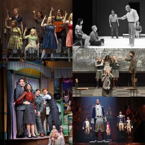 The Broadway casts of....