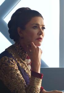 "Shohreh Aghdashloo as Chrisjen Avasaral in ""the Expanse"""