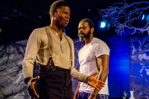 "Vimel Sephus and Cortez L. Johnson in ""Blue Door"" Photo by Daren Scott"