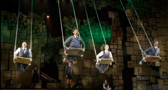 """The cast of MATILDA  in """"When I Grow Up"""""""