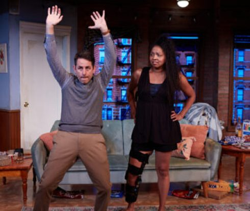 Photo Credit: Leilani Smith and Christopher M. Williams in North Coast Repertory Theatre's DANCING LESSONS Photo by Aaron Rumley
