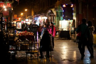 As the name suggested, this market opens until very late at night, it was nearly 11pm!