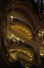 Gallerie Lafayette is very beautiful indeed.