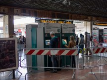 Ticket machines, where you can pre-book tickets in advance!