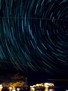 Some star trails practice.