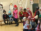 Ashton and Annabelle's first Christmas play!