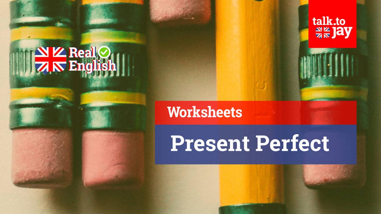 Worksheets Present Perfect Em Ingles