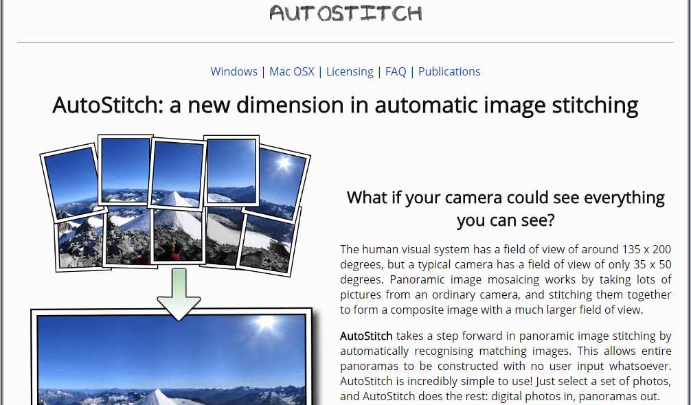 #05 - AutoStitch make full panorama image