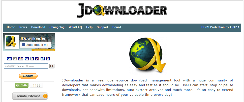 JDownloader IDM alternatives