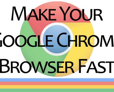 make google chrome fast
