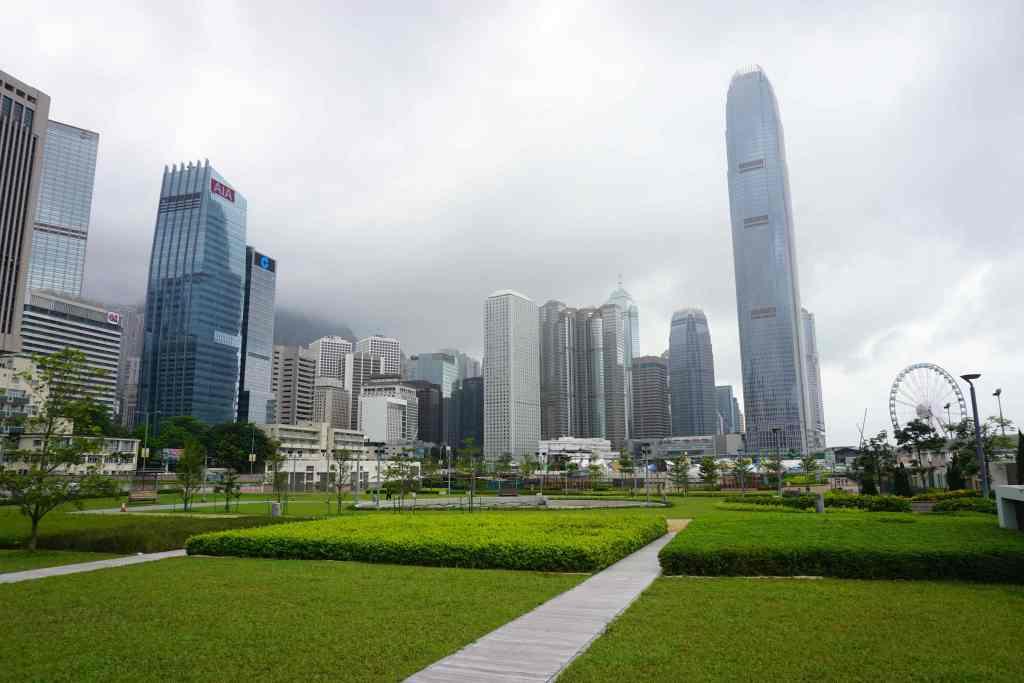 Victoria Harbour, Hong Kong Island, Hong Kong