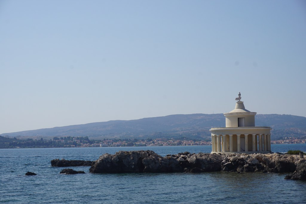 Lighthouse of Saint Theodoroi Kefalonia