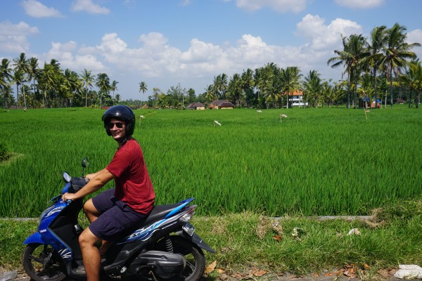 Motorbike Ubud Bali