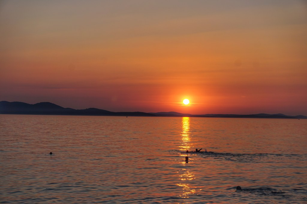 Sunset Zadar Croatia