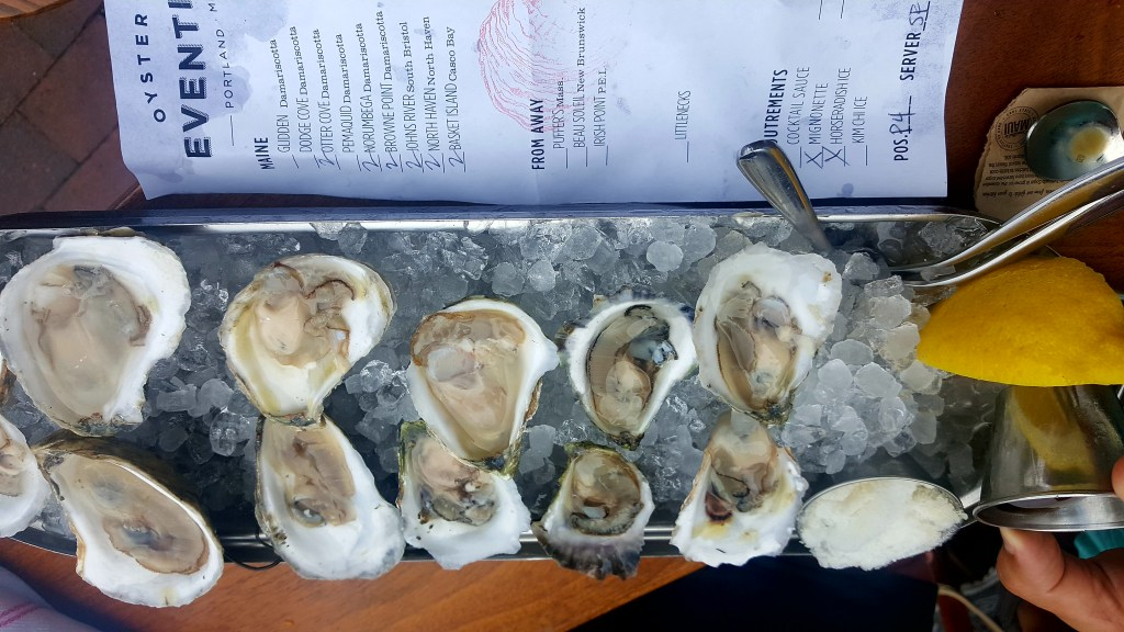 Eventide Oyster Co Portland Maine