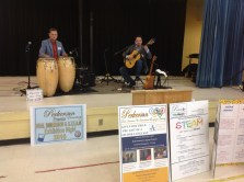 Latin jazz artists Jerry Field and Veccinos Del Mundo perform courtesy of school partner, Rialto Center for the Arts