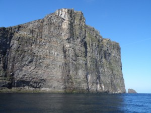 Eystfelli, a cliff on Fugloy Faroe Islands