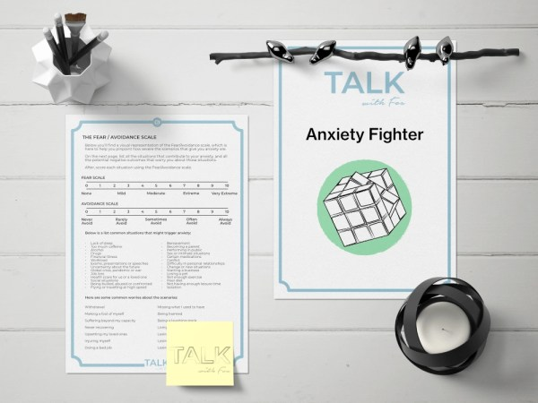 Anxiety Fighter worksheets