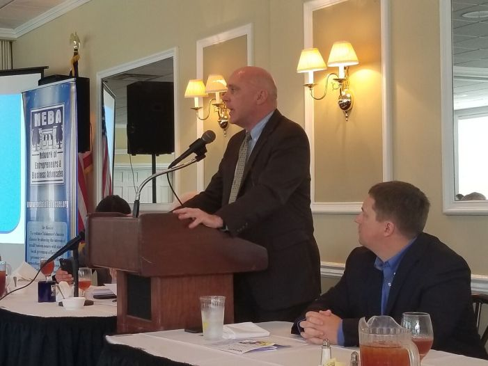 TMH's Mark O'Bryant Talks Mustian Center, Healthcare and Jobs at NEBA