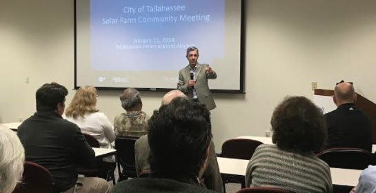 City's Solar Farm Meeting Confirms Foreign Ownership, No New Jobs, $9 Million Tax Credit