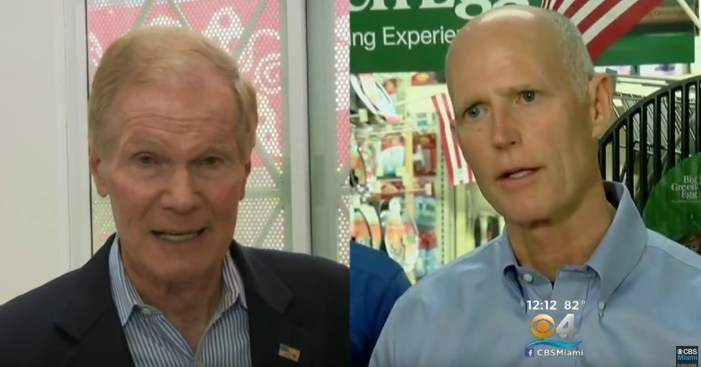 Nelson, Scott Take Off Gloves in First Debate