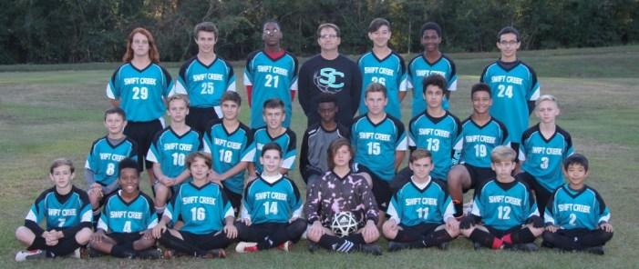 Swift Creek Middle School Boys Win Soccer Championship