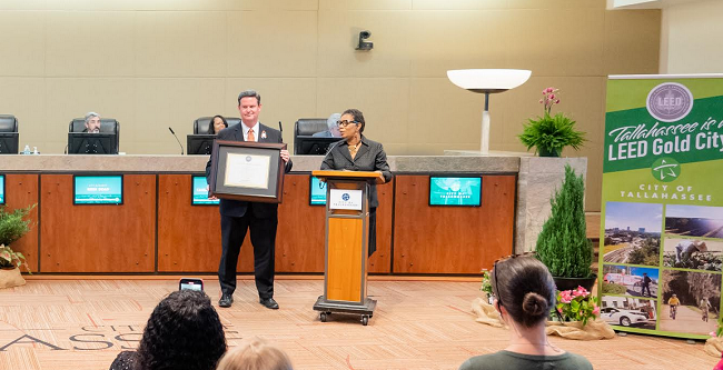 Tallahassee Awarded Coveted LEED Gold Certification