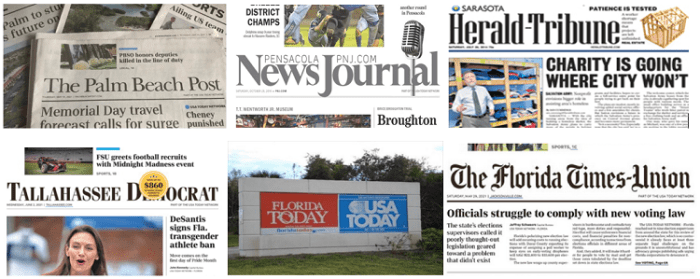 Florida's Gannett Papers Ignore Nikki Fried's Financial Disclosure Story