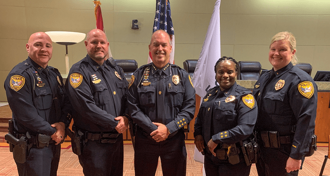 Tallahassee Police Department Celebrates Multiple Promotions