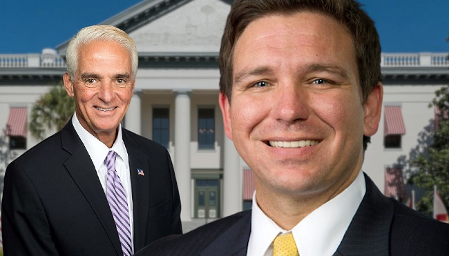 New Florida Chamber of Commerce Poll Shows DeSantis Ahead of Crist
