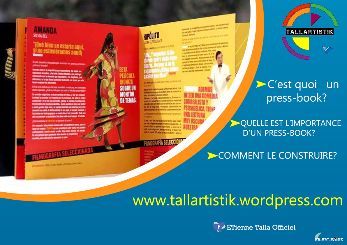 L'importance d'un Press-book