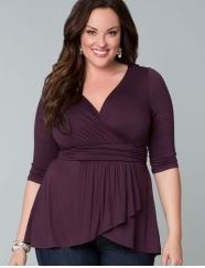 longer length plus size tops